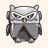 Owl cartoon theme elements vector,eps Royalty Free Stock Photography