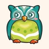 Owl cartoon theme elements vector,eps Stock Photos