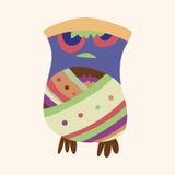 Owl cartoon theme elements vector,eps. Vector illustration file Stock Photo
