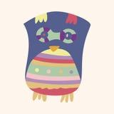 Owl cartoon theme elements vector,eps. Vector illustration file Stock Photos