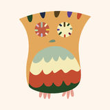 Owl cartoon theme elements vector,eps Royalty Free Stock Image