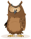 Owl Character Royalty Free Stock Photo
