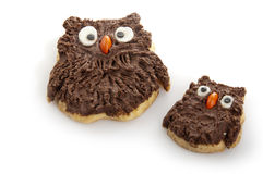 Owl cookies Stock Photo