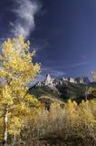 Owl Creek Pass met Schoorsteenrots Royalty-vrije Stock Afbeeldingen