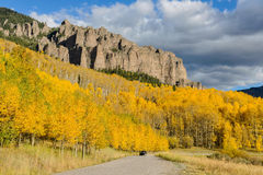 Owl Creek Pass Road at Turret Ridge Royalty Free Stock Photo