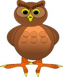 Cartoon Owl Stock Photos
