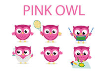 Owl. Cute owl illustration, nice for mascot, logo, clipart or other royalty free illustration