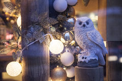 Owl decoration Royalty Free Stock Photo
