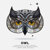 The owl. Stock Photography