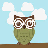 Owl design Royalty Free Stock Photos