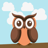 Owl design Stock Photo