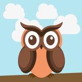 Owl design. Owl  grafic  design , vector illustration Stock Photo