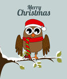 Owl design Stock Image