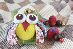 Owl doll background Royalty Free Stock Photos