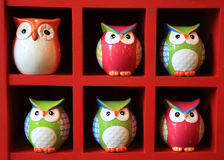 owl dolls for decoration Royalty Free Stock Photography
