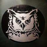 Owl Doodle Lizenzfreies Stockbild