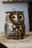 Owl figure Royalty Free Stock Images