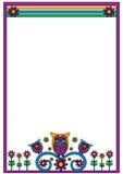 Owl Frame Royalty-vrije Stock Afbeelding