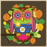 Owl- generał Fotografia Royalty Free