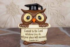 Owl Grad fotografía de archivo libre de regalías