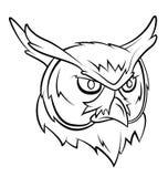 Owl Head Stock Photo