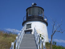 Owl Head Lighthouse royalty free stock images