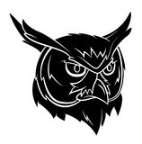 Owl Head Tattoo Royalty Free Stock Images