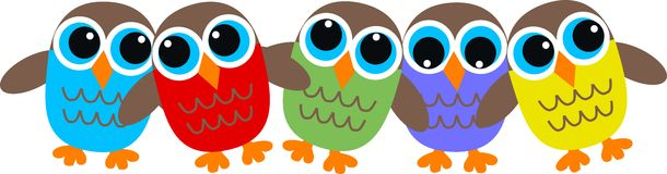 Owl header Stock Photo