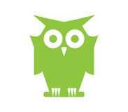 Owl Icon Design Royalty Free Stock Photos