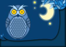 Owl illustration Royalty Free Stock Images