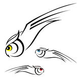 Owl illustration Royalty Free Stock Images
