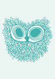 Owl Illustration Stockbild