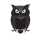 Owl Illustration Stock Foto's