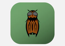 Owl Illustration ilustração stock