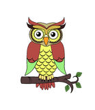 Owl illustration Royalty Free Stock Image