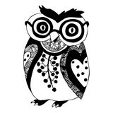 Owl illustration Stock Images