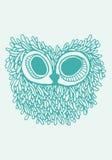 Owl Illustration stock image
