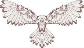 Owl illustration Stock Photography