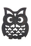 Owl Iron Rest Stock Photography