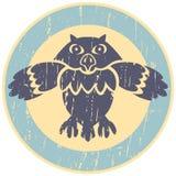 Owl Logo Royaltyfri Bild