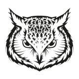 Owl Logo Lizenzfreie Stockfotografie