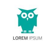 Owl Logo Design Fotografia Stock