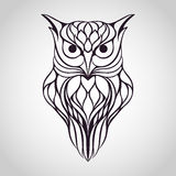 Owl logo Stock Photo