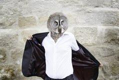 Owl man Stock Photography