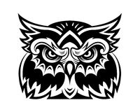 Owl mascot Royalty Free Stock Photography