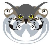 Owl mask Stock Photography