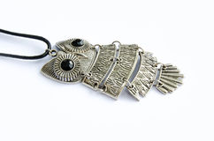 Owl necklace Stock Photos