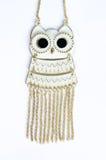 Owl necklace Stock Photo