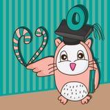 Owl o teacher Royalty Free Stock Images