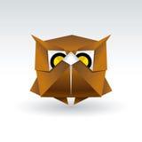 Owl Origami Lizenzfreies Stockfoto